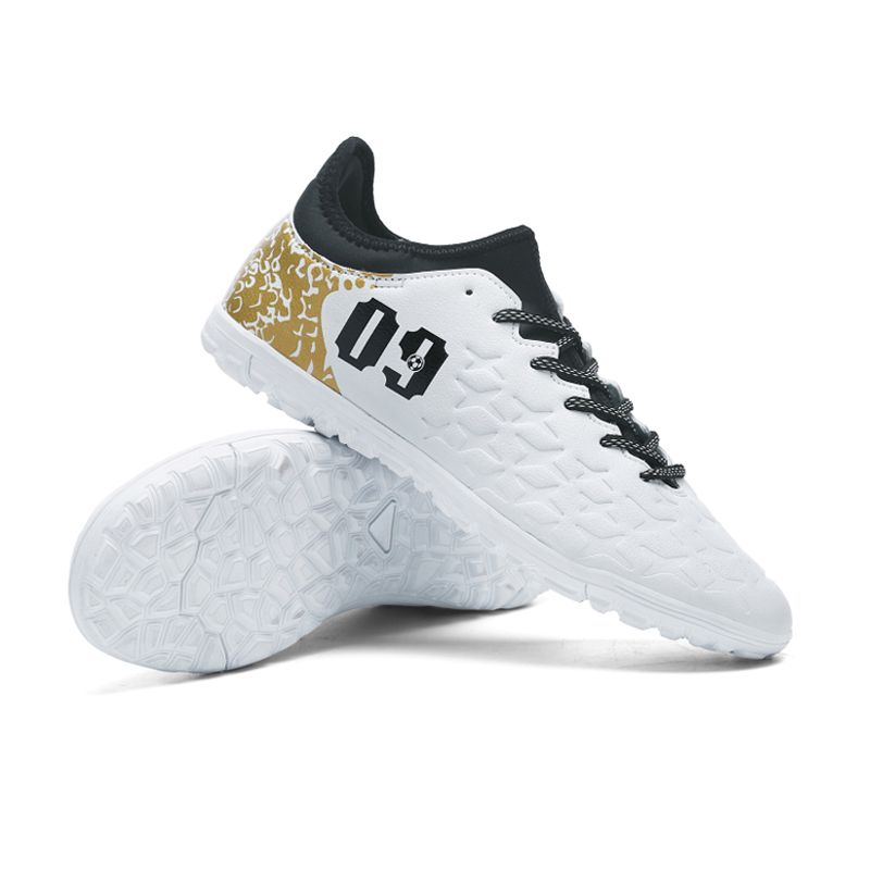 Ibuller Men Soccer Shoes Indoor Futsal Shoes With Socks Professional Trainer TF Football Boot Zapatillas Futbol Sala Hombre S165