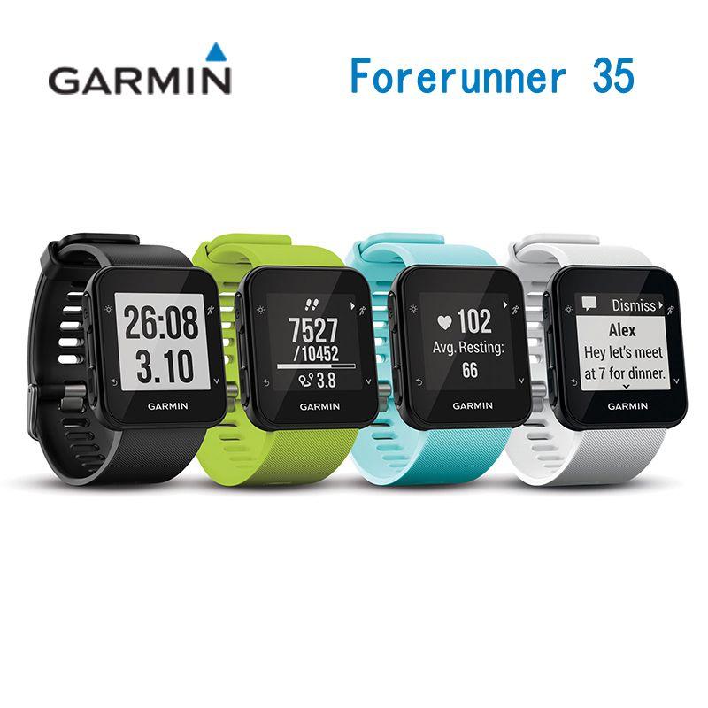 GARMIN Forerunner 35 GPS Reiten tacho Fahrt/RunningMultifunction Uhr Handgelenk Herz Rate Smartwatch Reiten Wasserdicht