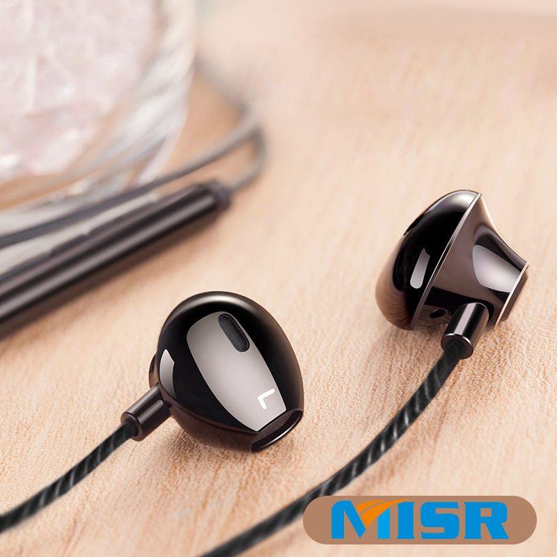 MISR P25 Metall Verdrahtete Kopfhörer für Iphone Samsung Huawei Xiaomi mit Mic Mikrofon für Telefon In-Ear Headsets Stereo Ohrhörer