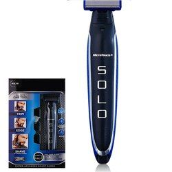 Multifunction Micro Touch SOLO Rechargeable Shaver Men Peronal Hair Cleaning Shaver Trimmer and Edger Hyper-Advanced Smart Razor
