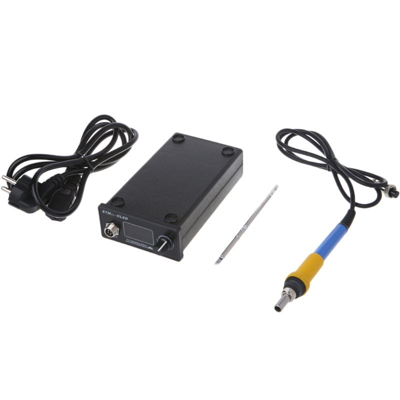 T12 Soldering Iron station STM32 OLED DIY Kits Solder Tools electronic Welding #Aug.26