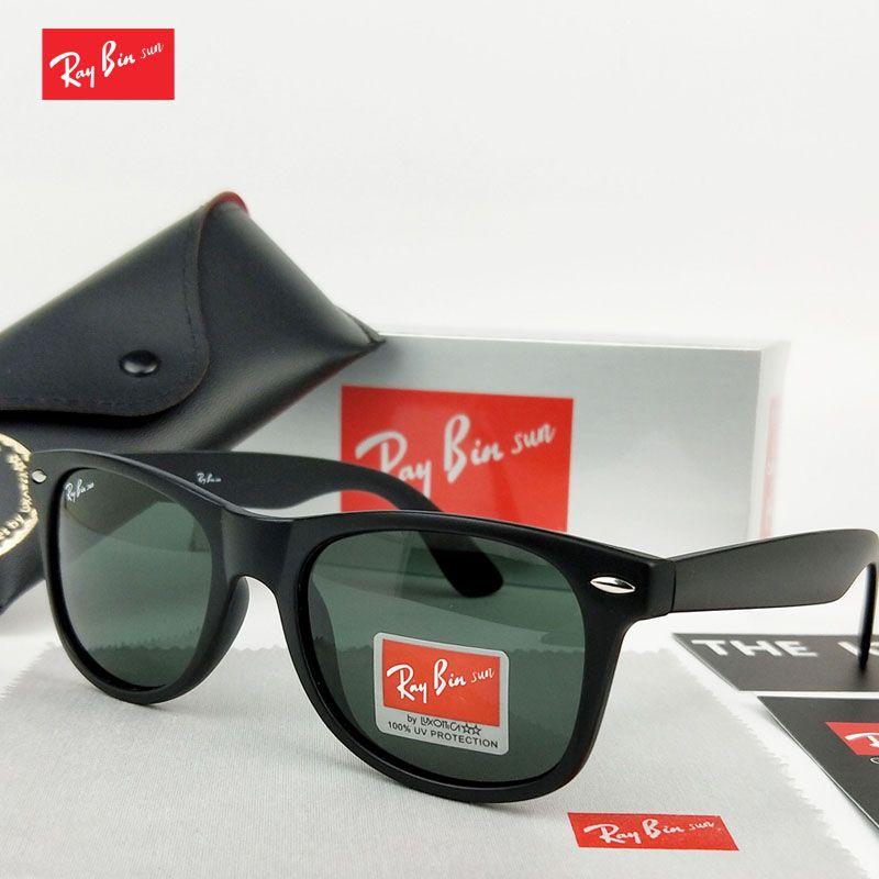 Ray Bin Soleil lunettes de Soleil Hommes lunettes de Soleil Femmes lunettes de Soleil polarisées Conduite Miroirs Point Lunettes De Mode Mâle Femelle Lunettes UV400