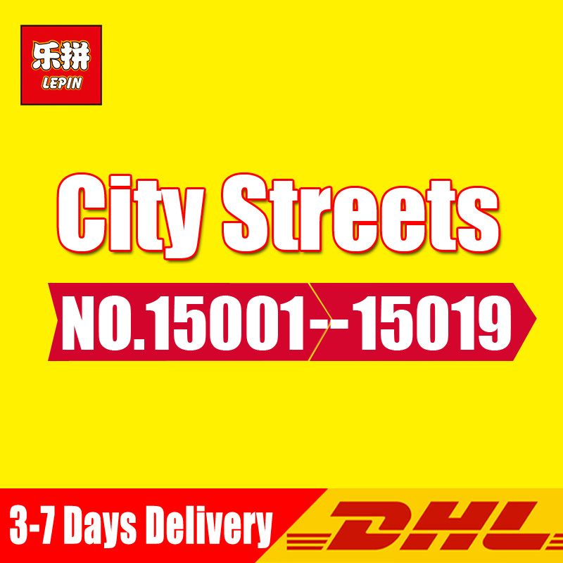 DHL Lepin 15002 15003 15004 15005 15006 15007 15008 15009 16060 16030 16007 16001 Building Kits Blocks Compatible Legoings