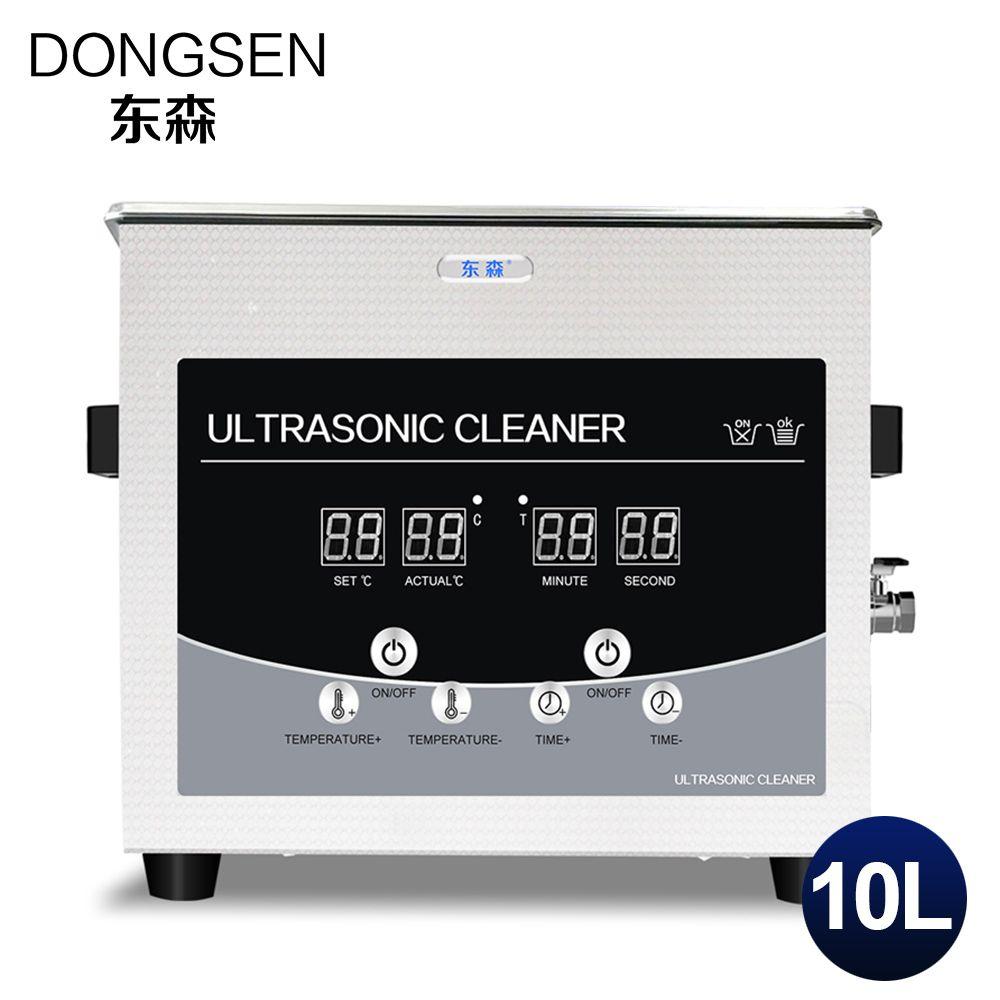 Industrial Ultrasonic Cleaner 10L Bath PCB Board Mold Metal Hardware Glassware Degreasing Timer Ultrasound Washer Machine Tanks