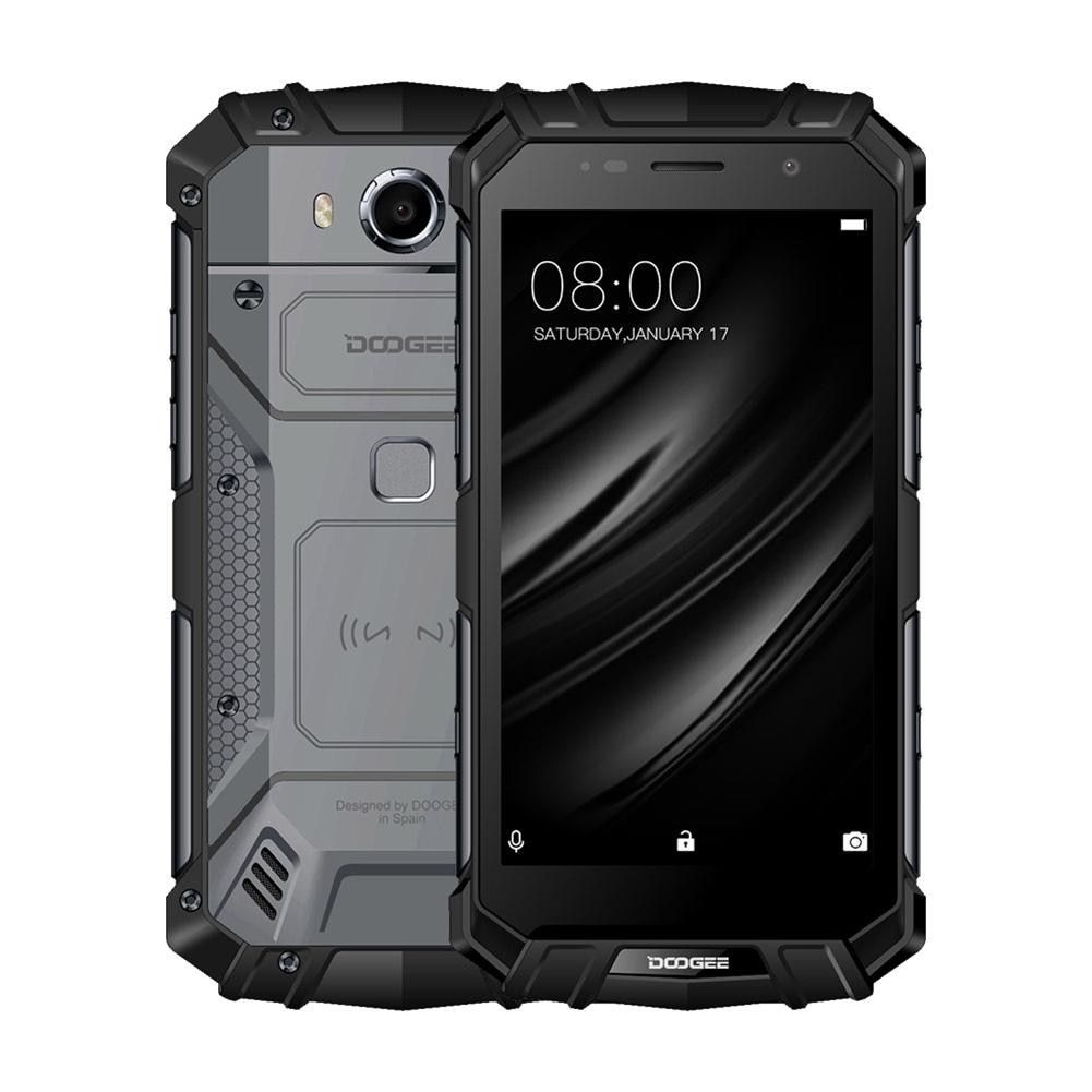Real IP68 DOOGEE S60 Wireless Charge 5580mAh 12V2A Quick Charge 5.2'' FHD Helio P25 Octa Core 6GB 64GB Smartphone 21.0MP Camera