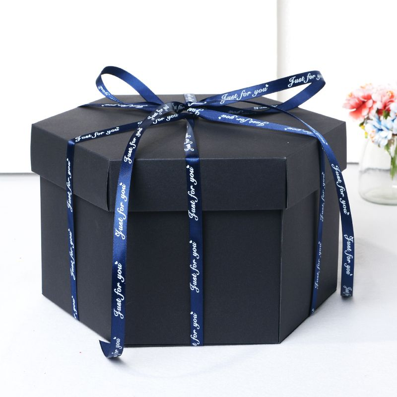 DIY Photo Album Explosion Gift Box Storage Box Birthday Valentine's Gift Handmade Gift with DIY Accessories Kit Boom Gift Box