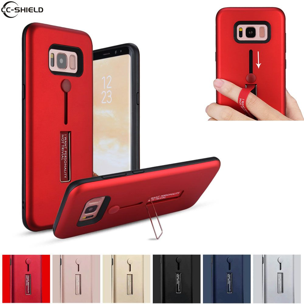 Fitted Case For Samsung Galaxy S8 plus S 8 S8+ SM-G955FD SM-G955F Armor Case Phone Cover 8S SM G955 G955FD G955F black tpu coque