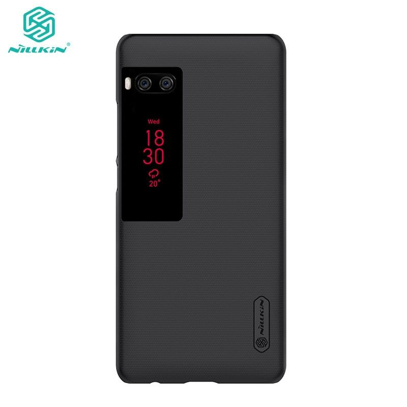 Case For Meizu Pro 7 Plus / Pro7 Plus Nillkin Frosted Shield Hard Back Cover Meizu Pro 7 Plus Case With Screen Protector