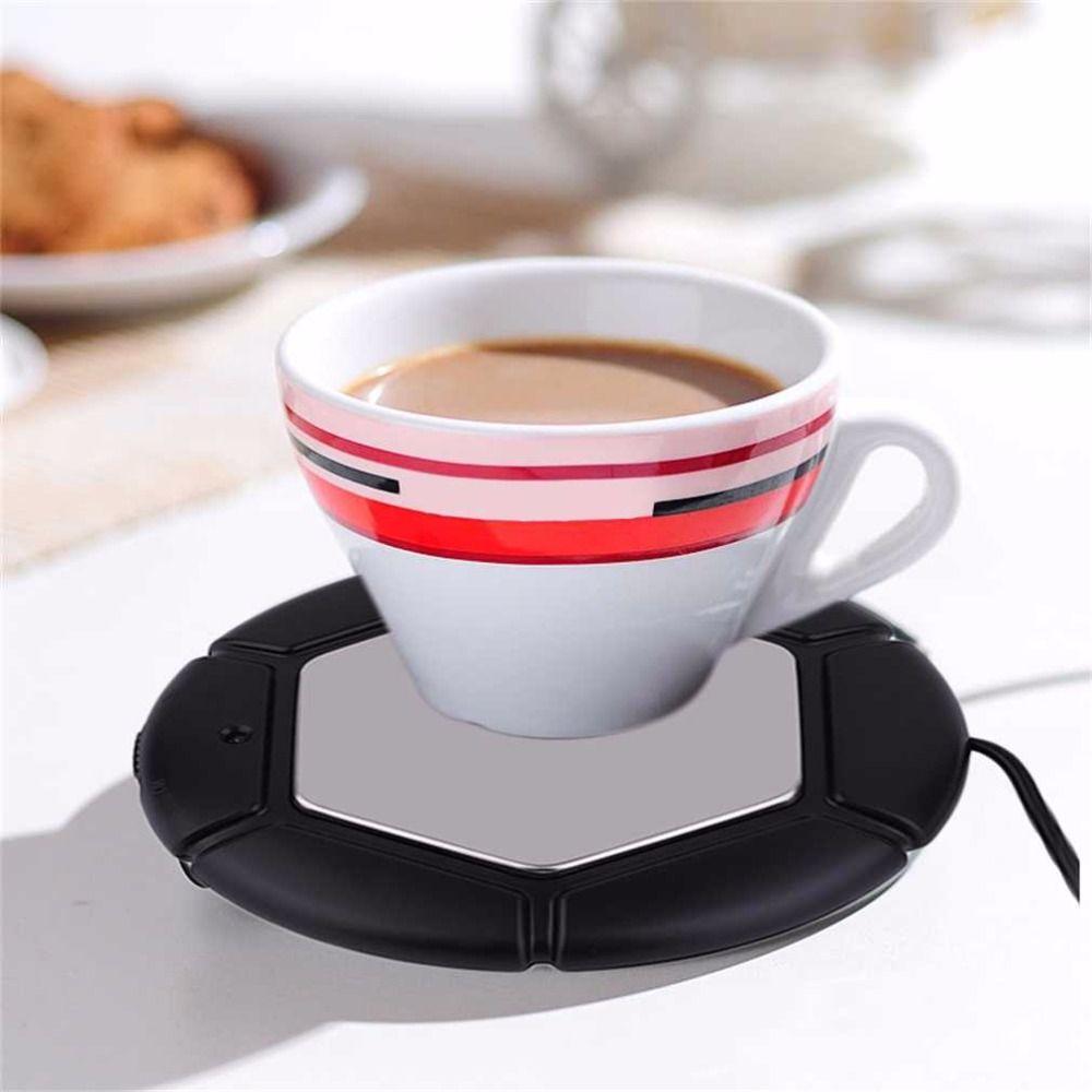 1 stück 2018 Desktop Tee Kaffee Tasse Becher Pad USB Wärmer Matte Heizung USB Wärme Erhaltung Matte Warm Halten Heißer trinken Warme 40-80Celsius