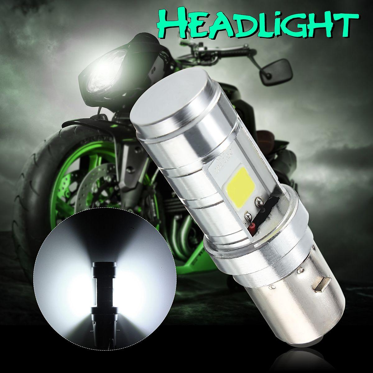 BA20D 10 W 1000LM LED Motorrad Moped ATV Scheinwerfer Birne Roller Accessoire 12 V-24 V Weiß Motorrad Kopf lampe