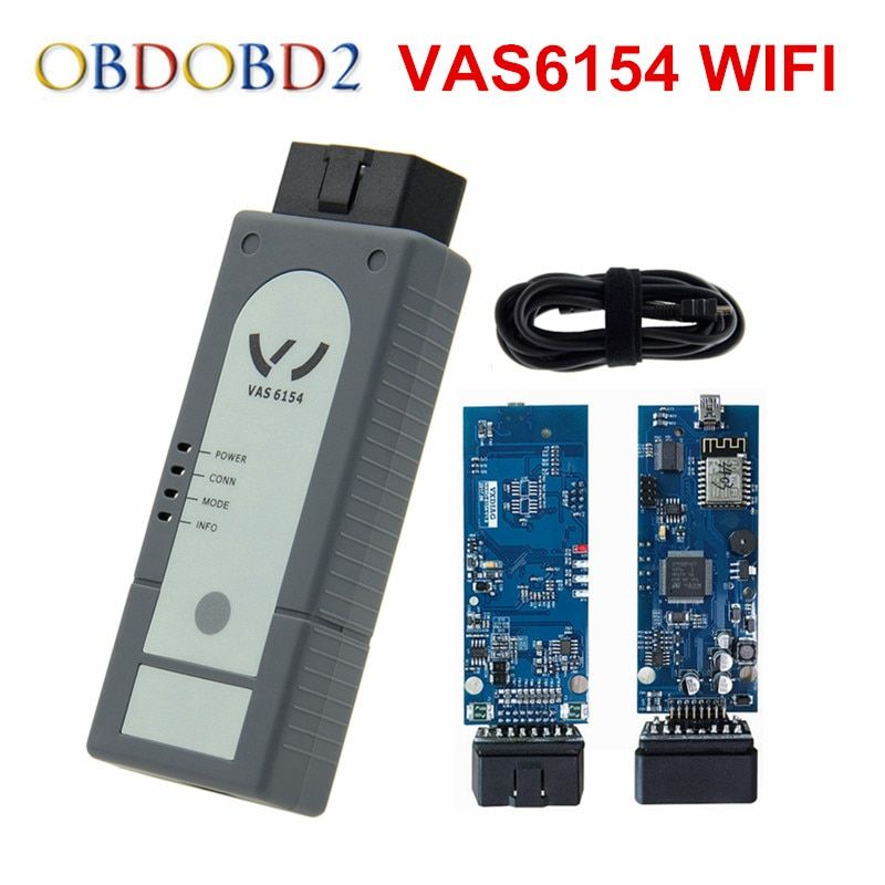 Newest Version WIFI/Bluetooth VAS6154 ODIS V4.3.3 Full Chip OKI VAS 6145 Diagnostic Tool Better Than 5054A V4.23 Support UDS