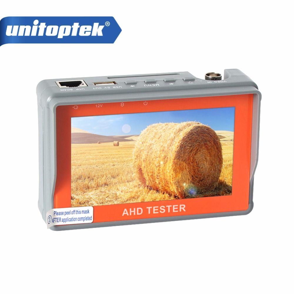 4.3 дюймов HD AHD Камера Тесты er CCTV Тесты er Мониторы AHD 1080 P 720 P AHD аналоговый Камера Тесты состав utp кабель Тесты 5 В/2A, 12 В/1A Выход