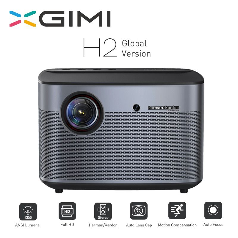 XGIMI H2 Projektor 1080 P 1350 Ansi Full HD 3D 4 K Projektor 2 GB/16 GB Android Bluetooth airplay Heimkino Proyector
