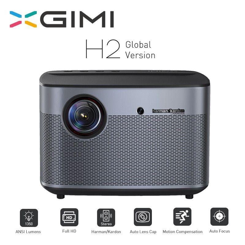 XGIMI H2 Projektor 1080P 1350 Ansi Full HD 3D 4K Projektor 2 GB/16 GB Android Bluetooth airplay Heimkino Proyector