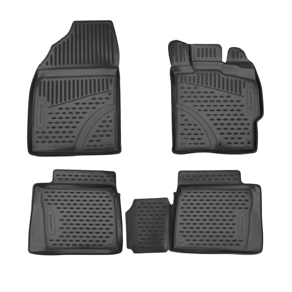 Für Toyota Prius NHW30 2009-2015 RHD 3D boden matten in saloon 4 teile/satz Element ELEMENT3D48134210