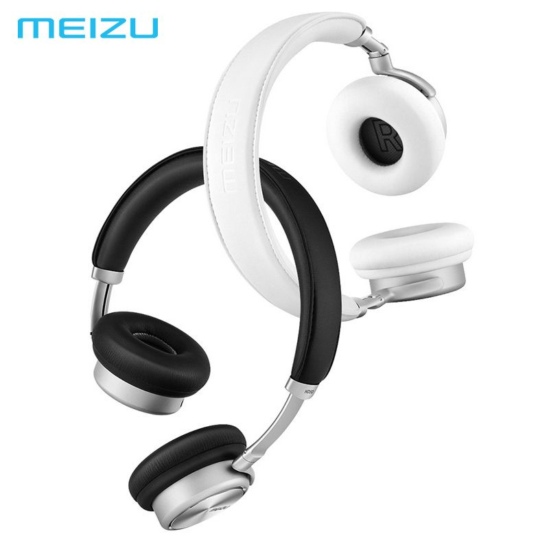 Meizu HD50 Headband HIFI Stereo <font><b>Bass</b></font> Music Headset Aluminium Alloy Shell Low Distortion Headphone with Mic for iPhone Samsung LG