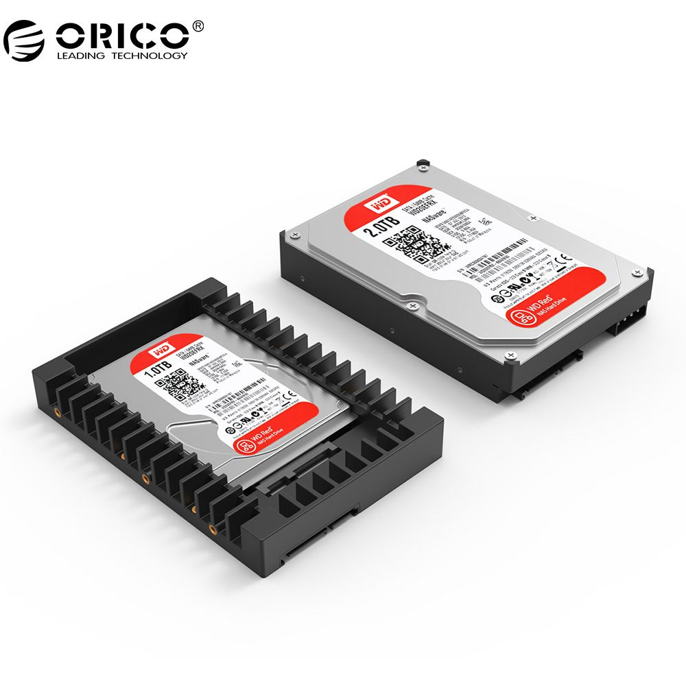 ORICO 2.5 to 3.5 inch Hard Drive Caddy Support SATA 3.0 6Gbps Fast Transfer Speed Not Including Hard Drive