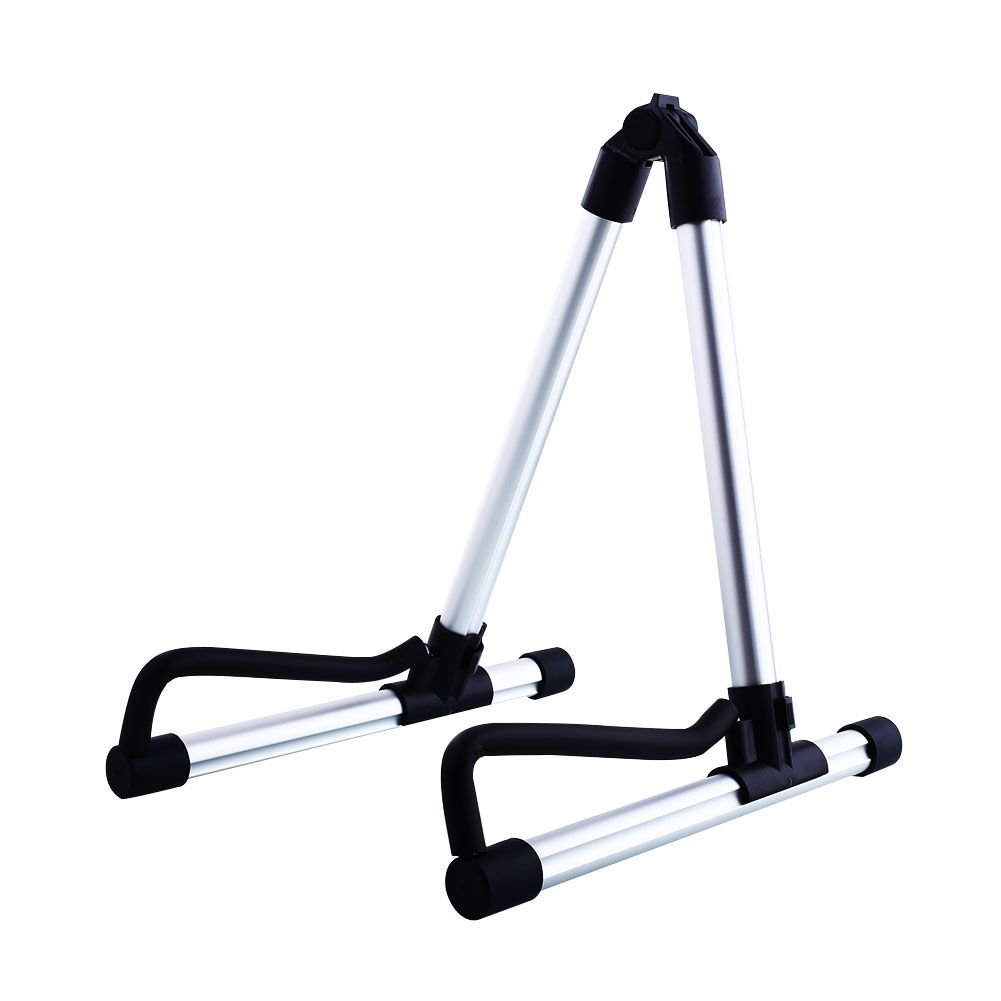 XFDZ 2016 Hot Sale New Foldable Folding Acoustic Electric Guitar Bass Stand Holder Floor Universal