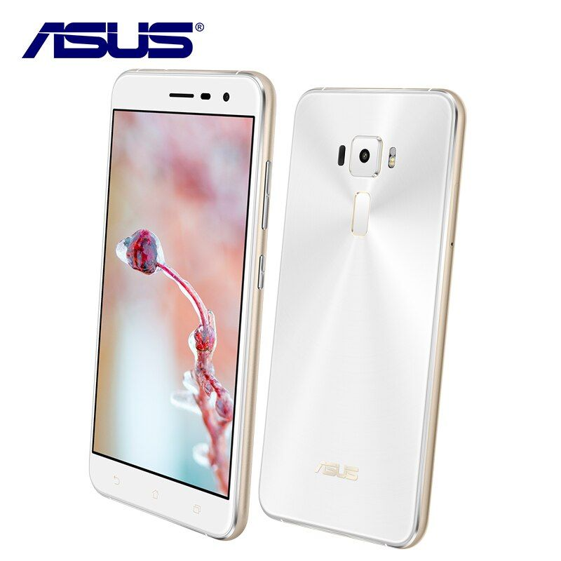 New Asus ZenFone 3 ZE552KL 64GB ROM 4GB RAM Mobile Phone Octa Core Android 6.0 Qualcomm 5.5'' 1080P 16.0MP 2.5D Dual Sim Card