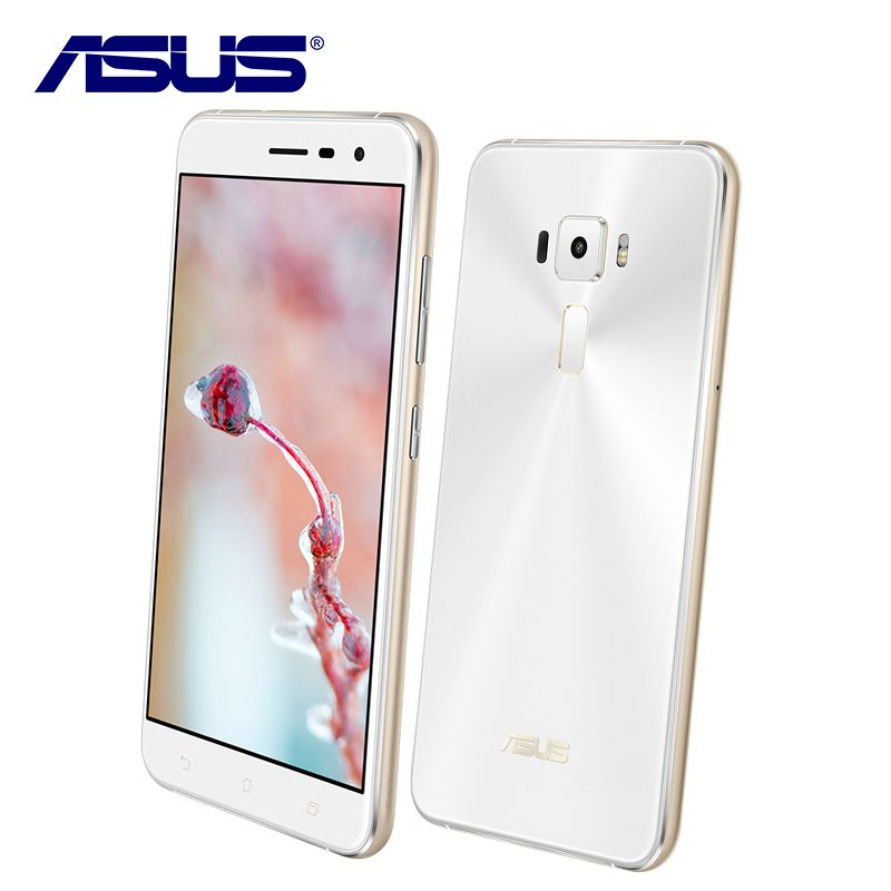 Nouveau Asus ZenFone 3 ZE552KL 64 GB ROM 4 GB RAM Mobile Téléphone Octa base Android 6.0 Qualcomm 5.5 ''1080 P 16.0MP 2.5D Double Sim carte
