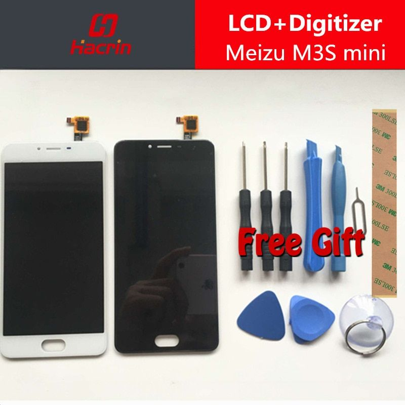 Meizu M3S mini LCD Display 5.0 inches + Touch Screen + Tools Premium HD Digitizer Assembly Replacement For Meizu M3S LCD