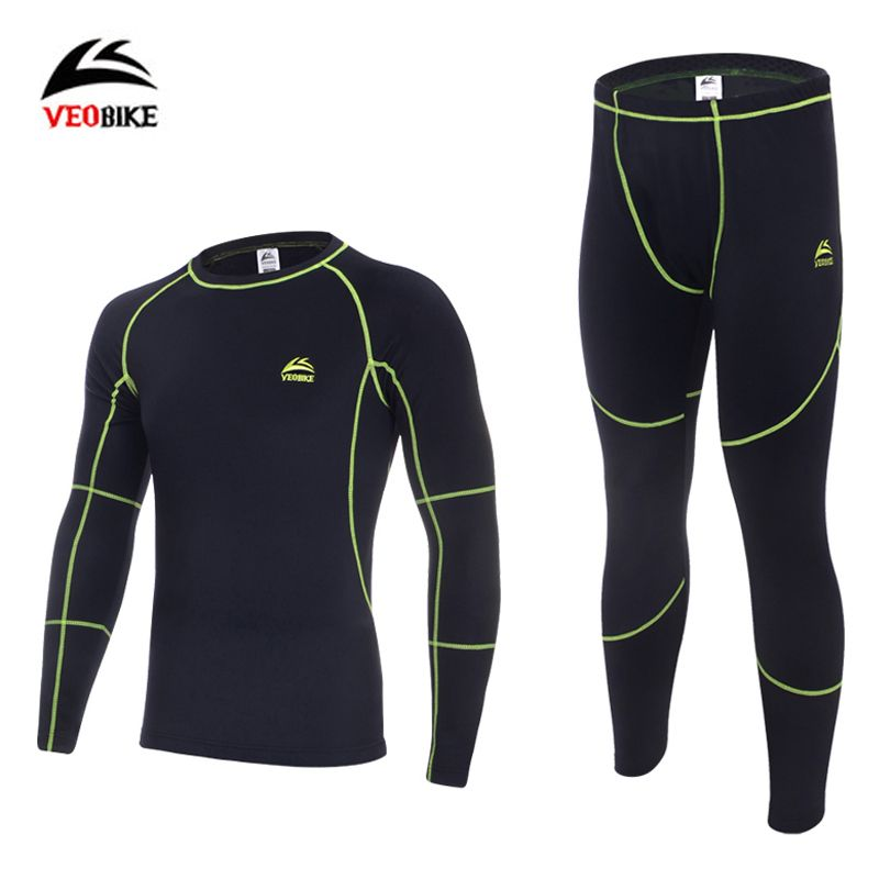 Thermal Underwear Sets 2018 New Men Winter Fleece Long Johns Comfortable Warm Thermo Underwear Thickening Breathable Tights