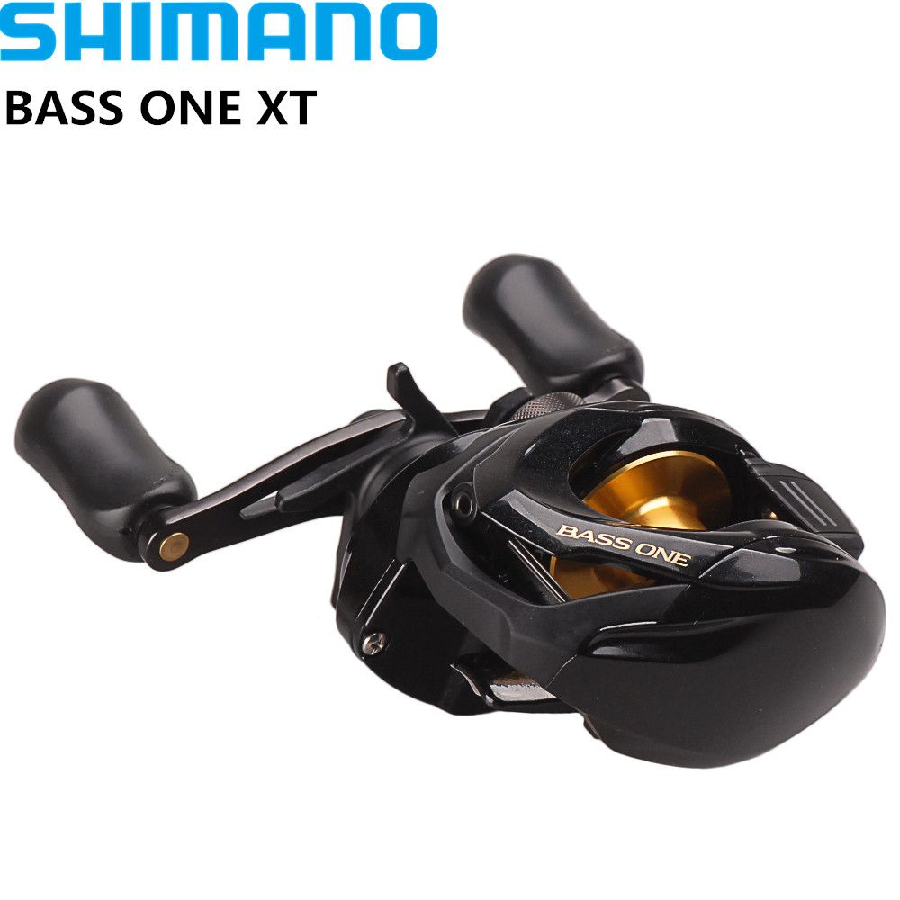 Shimano BASS ONE XT 150 151 Right Left Baitcasting Fishing Reel 7.2:1/ 4+1BB 5.0kg SVS Syetem Coil Fishing Reel Moulinet Peche