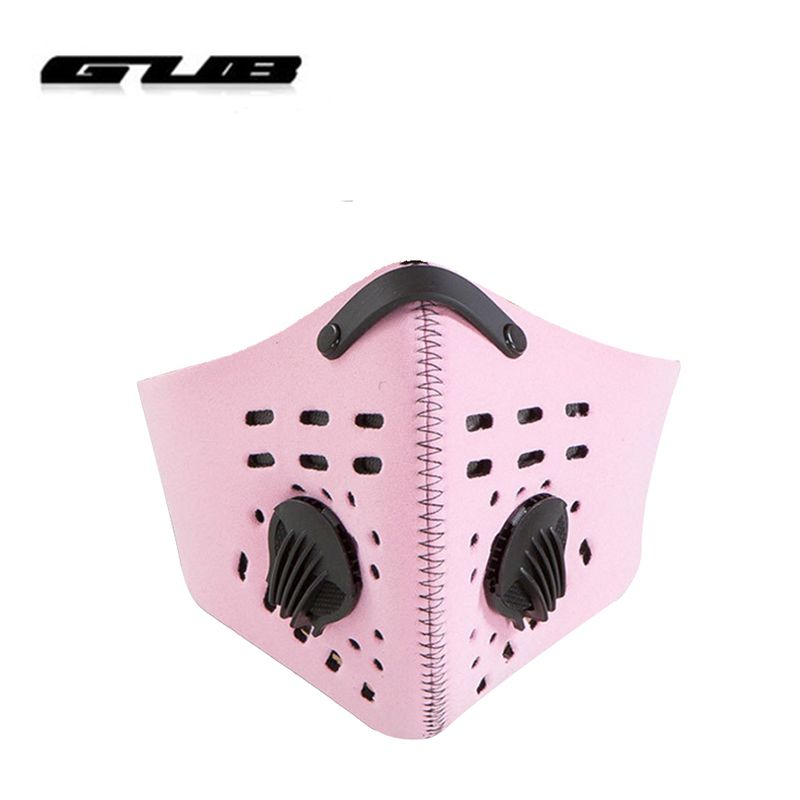 GUB 2017 New Activated Carbon Bike Cycling Mask Anti-dust Windproof Training Mask Sport Face Mask With Filter Face Shield 913251