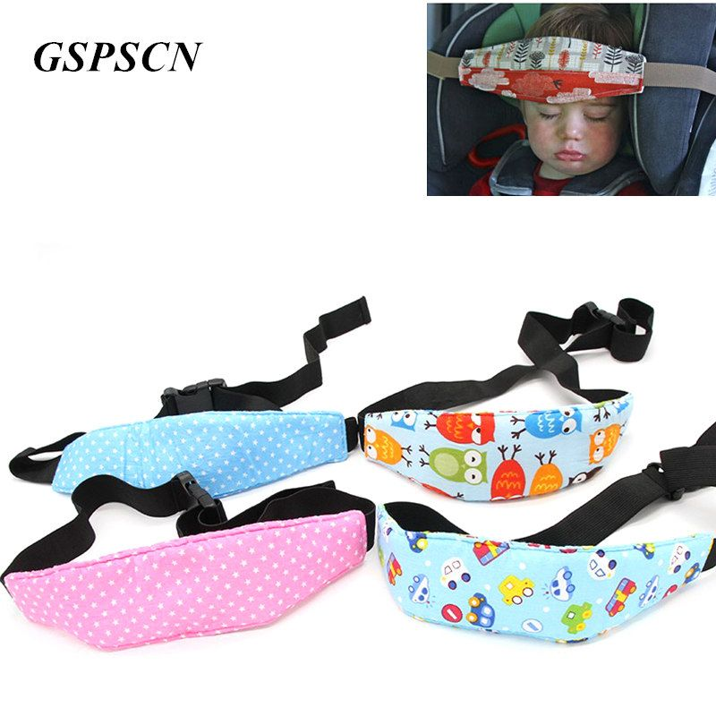 Toddler Head Support For Car Seat Head Support Covers Seat Cover Sleep Aid Belt Eliminates Pressure Kids Children Auto Safest