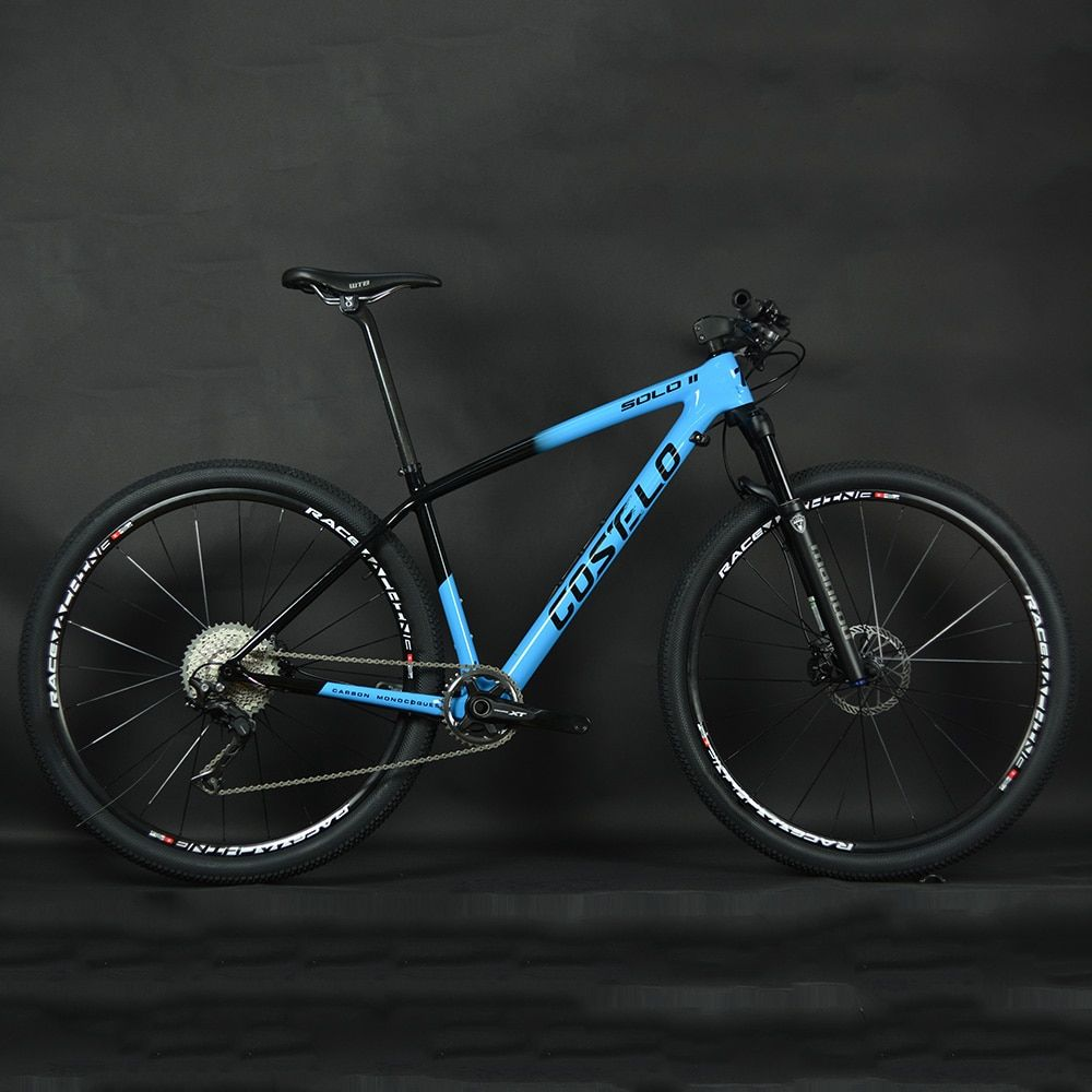 1X11 Geschwindigkeit XT Manituo M30 Gabel Costelo SOLO 2 Berg Mtb fahrrad bike 29er steckachse carbon rahmen carbon räder