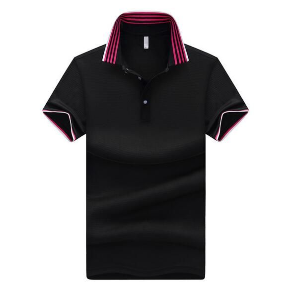 Smeiarar New Men Women Polo Business Men Casual Solid Sleeve Breathable Tees and Tops Cost Man Clothing Personalized P-E-1723