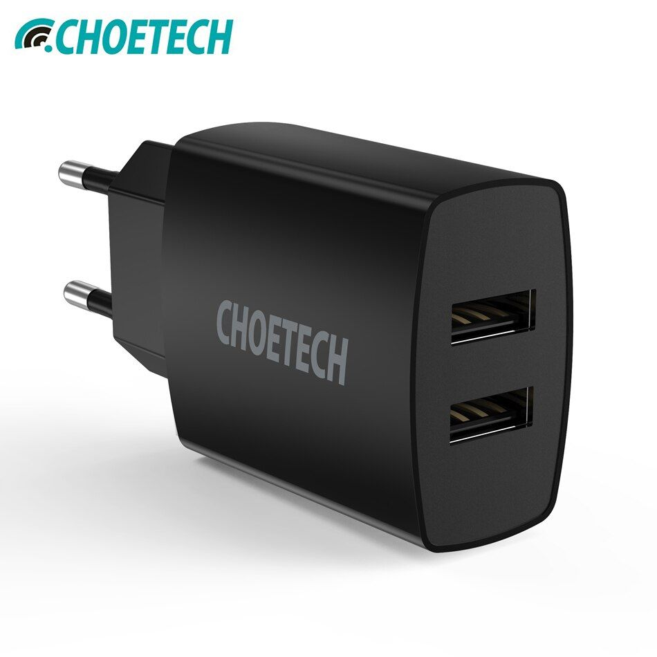 Universal USB Charger For iPhone 7 6S 5V/4.8A Dual USB Travel Wall Charger Adapter For Samsung Galaxy S8 Mobile Phone Charger