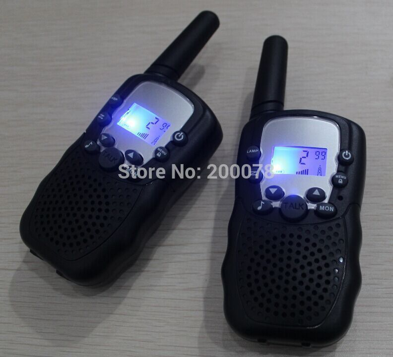New Generation 99 private code pair walkie talkie t388 radio walk talk PMR446 radios or FRS/GMRS 2-way radios flashlight