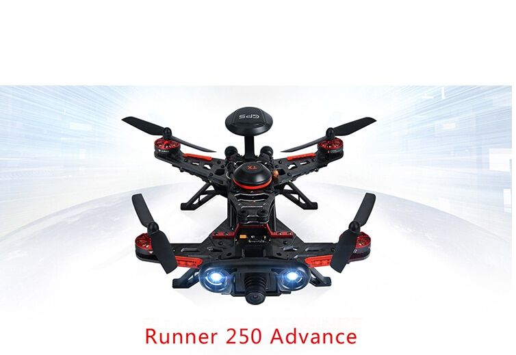 F16182 Original Walkera Runner 250 Advance GPS System RC Drone Quadcopter RTF with DEVO 7 Remote Control / OSD / Camera / GPS V4