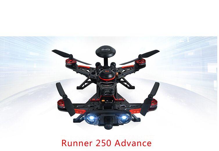 F16182 Original Walkera Runner 250 Advance GPS System RC Drone Quadcopter RTF with DEVO 7 Remote Control / OSD / Camera / GPS V4