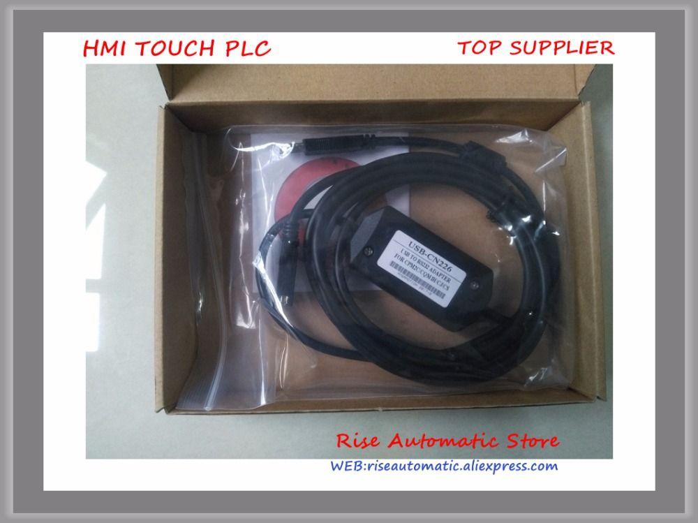Cable USB-CN226 PLC for CS/CJ/CQM1H/CPM2C PLC,USB CN226 New USB/CN226 Support Win7/ Win8
