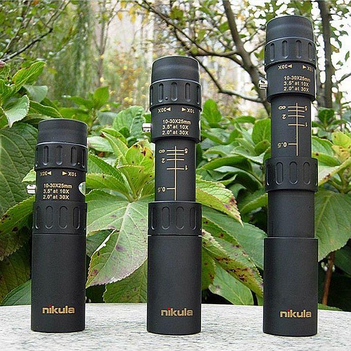 10-30x25 Binoculo Lunette De Chasse Optique Prisme Portée Lunetas Visao Noturna CHAUDE Télescopio Télescope Monoculaire