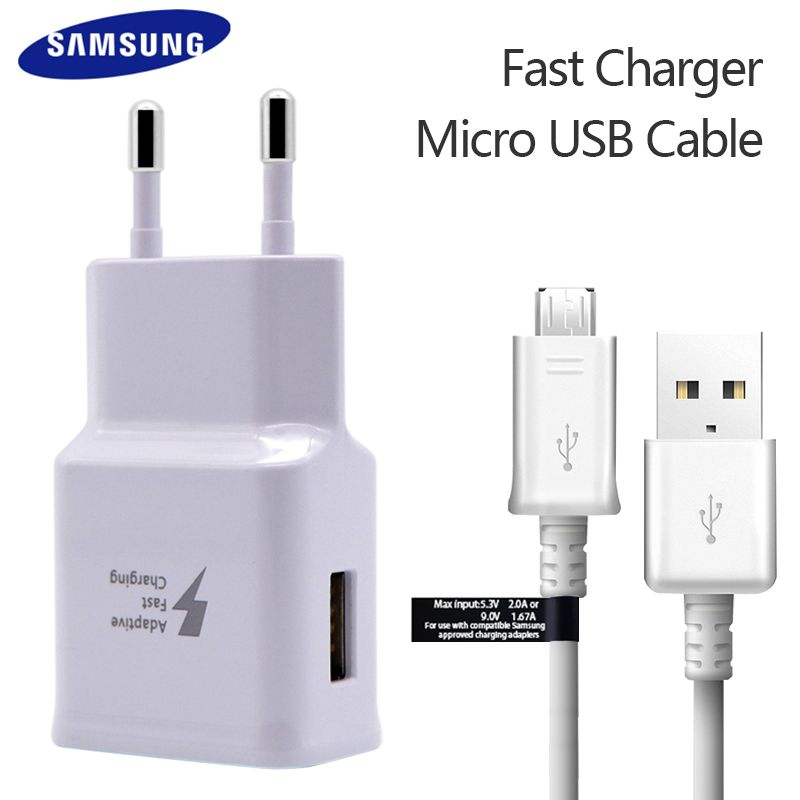 Original Samsung Adaptive fast charger uk Plug 9V 1.67A & 5V 2A Quick Charge for samsung s6 s7 edge plus note 5 J8 7 S5 S4 S3