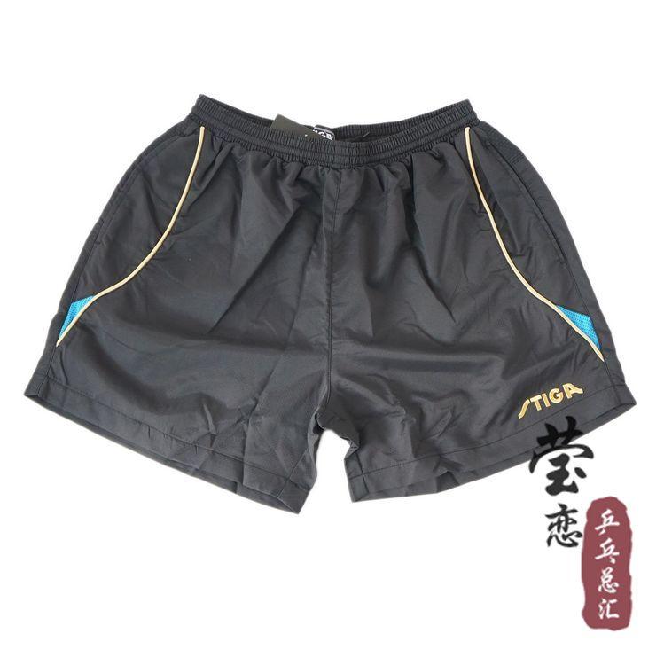 Original stiga shorts für tischtennisschläger schläger sport g130213 unisex klassiker spezielle leichte atmungs professionelle