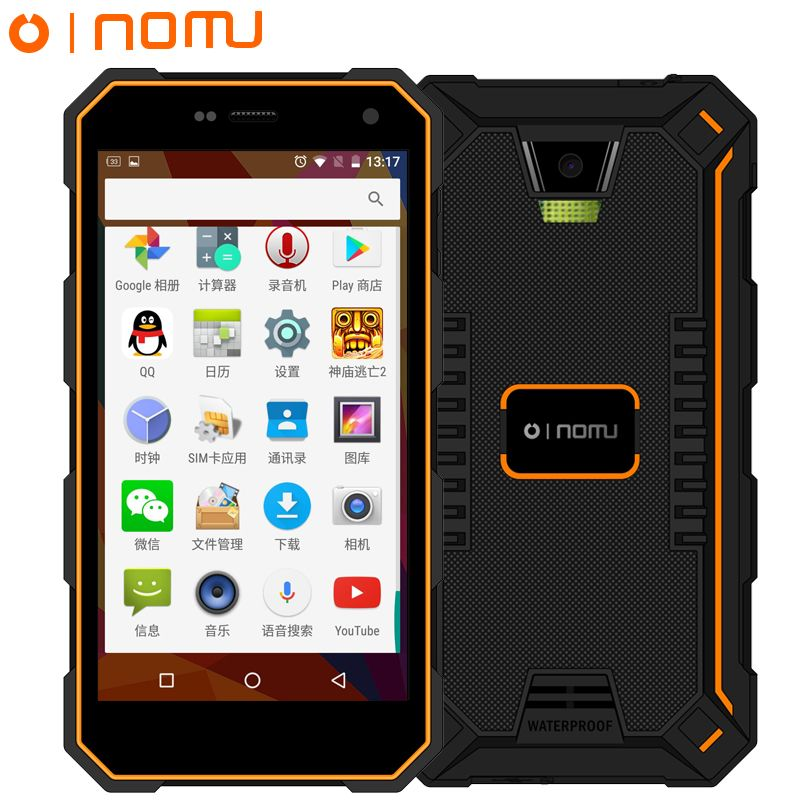 Oinom V18H IP68 прочный водонепроницаемый телефон 2 ГБ 32 ГБ Встроенная память Android 5.1 MT6752 4 ядра 13.0MP 5000 мАч FDD LTE 5.0 дюймов пусть 4 г FDD S10