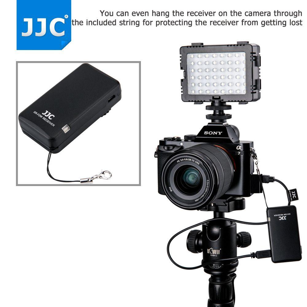 JJC Camera or Camcorder Wireless Remote Controller 2.4Ghz for Sony a6500/a6300/a6000/a7R III/RX100 IV/FDR-AX30/HDR-CX420