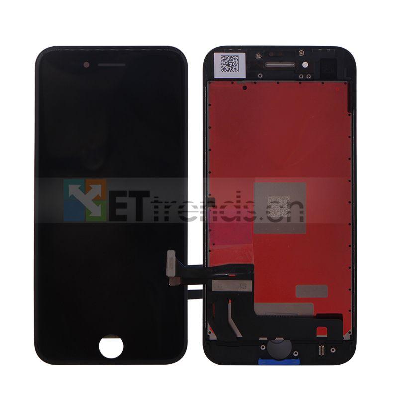 5 STÜCKE Für iPhone 8 Original Lcd-bildschirm Montage mit Rahmen Schwarz Weiß Keine Tote Pixel Dhl-freies Verschiffen