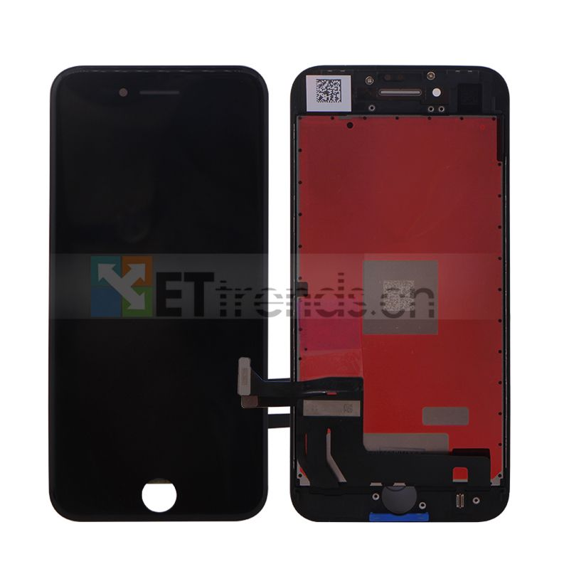 5PCS For iPhone 8  Original LCD Screen Assembly with Frame Black White No Dead Pixel DHL Free Shipping