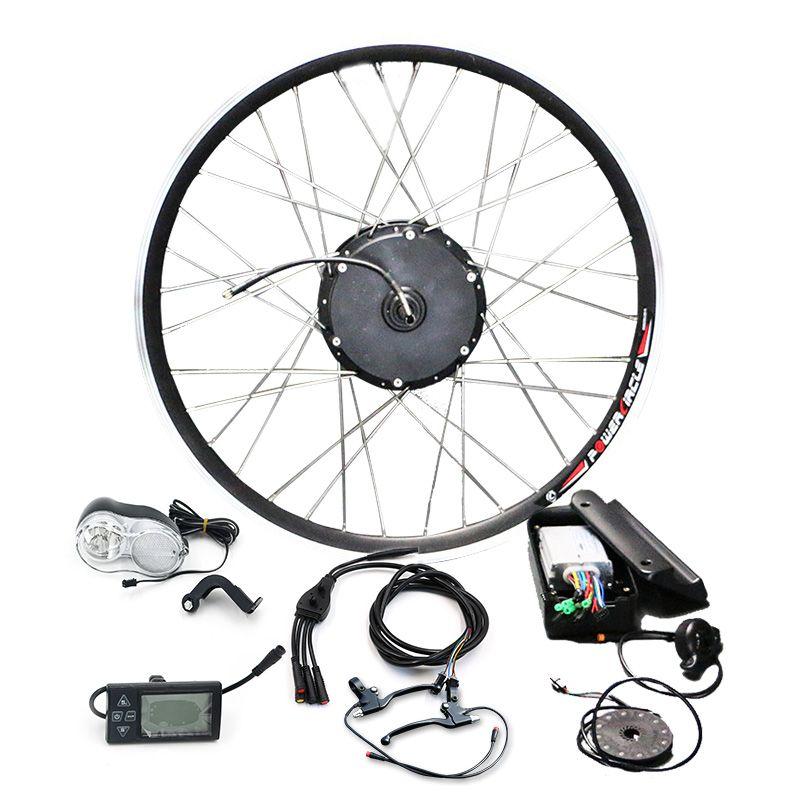 Cheap Electric bike motor wheel 36V 250W 350W 500W Electric bicycle Conversion Kit motor for MTB Bike 20