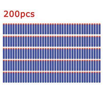 50/100/200 шт. легкий мягкий воздуха пистолет пули Дартс EVA пулевые дротики для Нерфа Н-Страйк серии Бластеры Kid для игрушечный пистолет