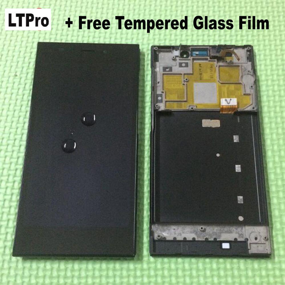 LTPro 100% Testé Écran LCD Full Écran Tactile Digitizer Assemblée + Cadre/Lunette Pour Xiaomi Mi3 M3 WCDMA Pièces + trempé Verre Film