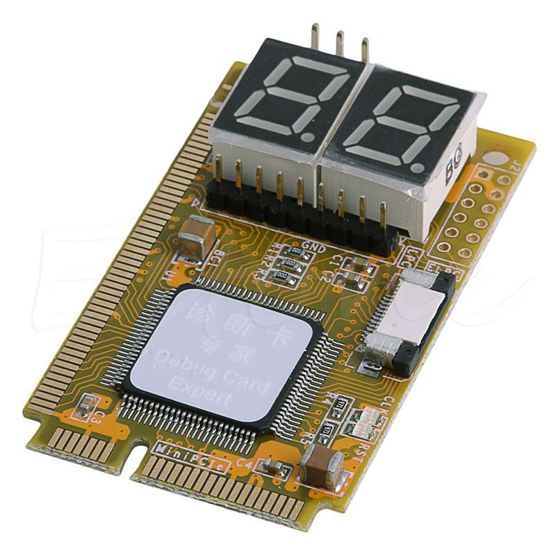 5 in 1 Notebook Diagnose Test Debug Post Card Karte Mini PCI I2C PCI-E LPC ELPC