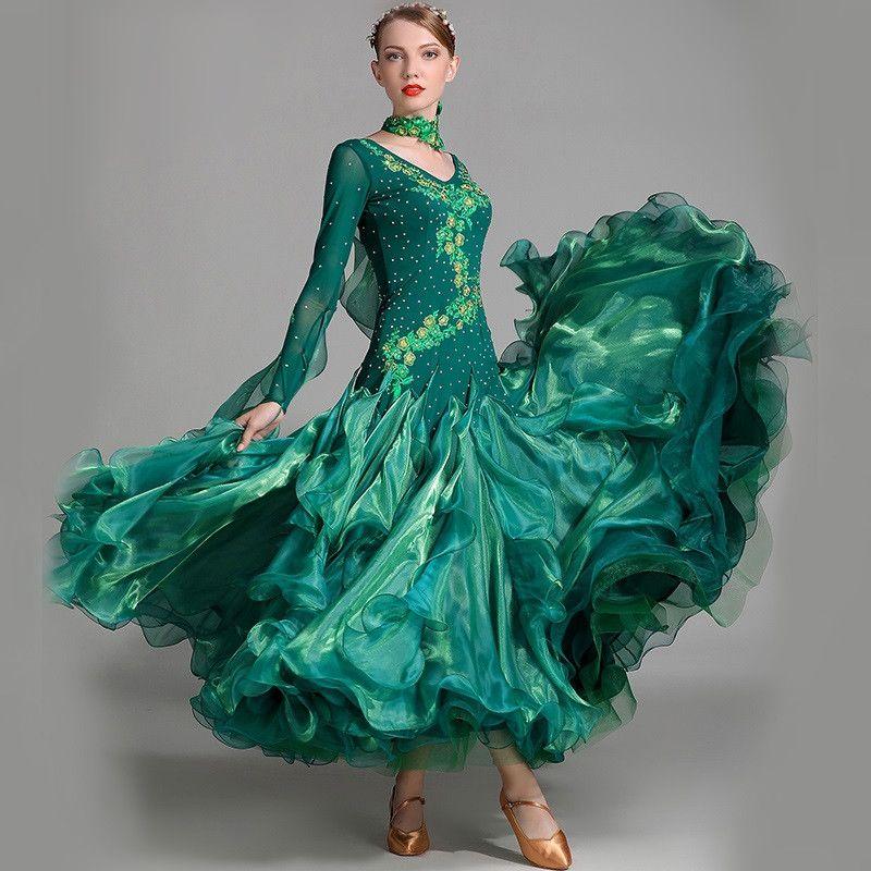 standard ballroom dress women competition standard dance dress for dance ballroom rumba dresses tango waltz dance costumes