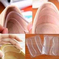6 Pcs = 3 Paire Silicone Semelles pour Chaussures Antidérapant Coussinets en Gel Soins Des pieds Protector pour Talon Frotter Coussin Tapis Chaussures Semelles insérer
