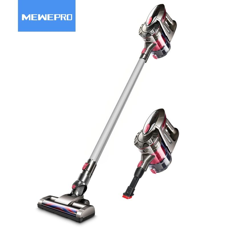 MEWEPRO Cordless Handheld Vacuum Cleaner Wireless Aspirator for Home Lithium Charging with High Power Long Lasting MWVC-01